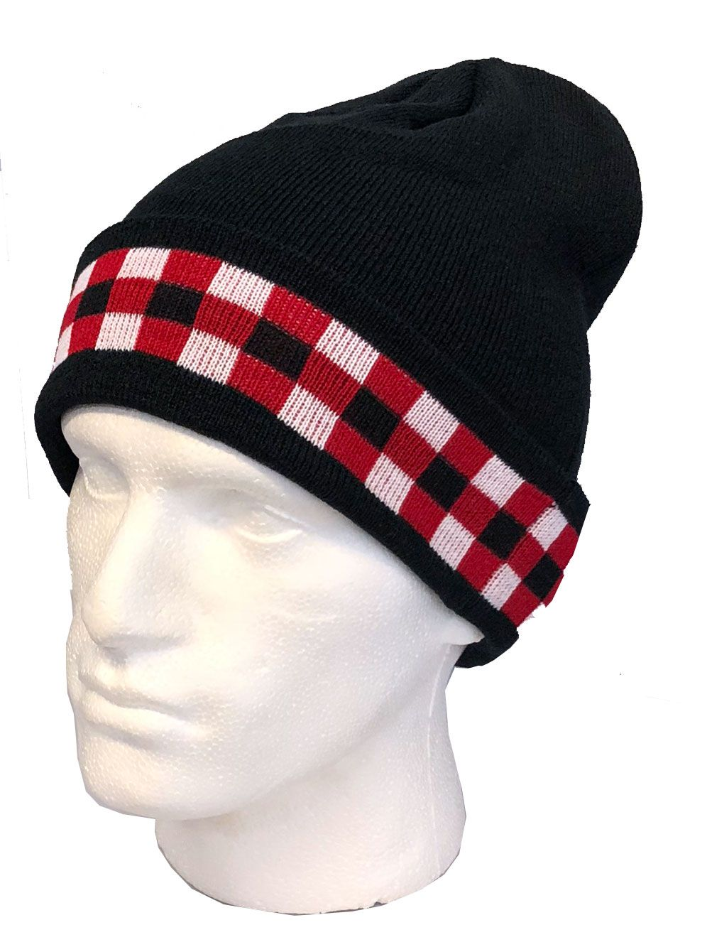 ea21086c504 Scottish Regiments Beanie Hat with the Regimental Dice normally found on a  glengarry hat. A unique beanie hat available from the Scottish Regimental  Store