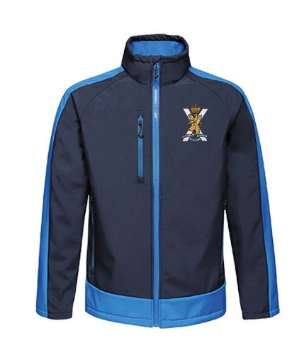 Royal Regiment of Scotland  Softshell Jacket in regiments colours.